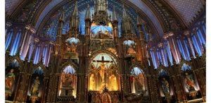 Basílica de Notre Dame de Montreal