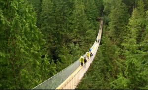 Puente colgante Capilano