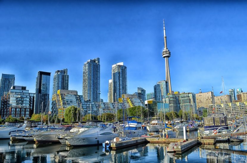 Vista de Toronto, una de las mejores ciudades para vivir en Canadá