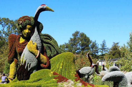 De visita por el Jardín Botánico de Montreal