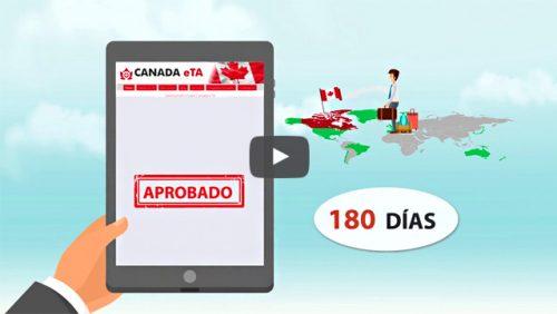 Obtener autorización para viajar a Canadá