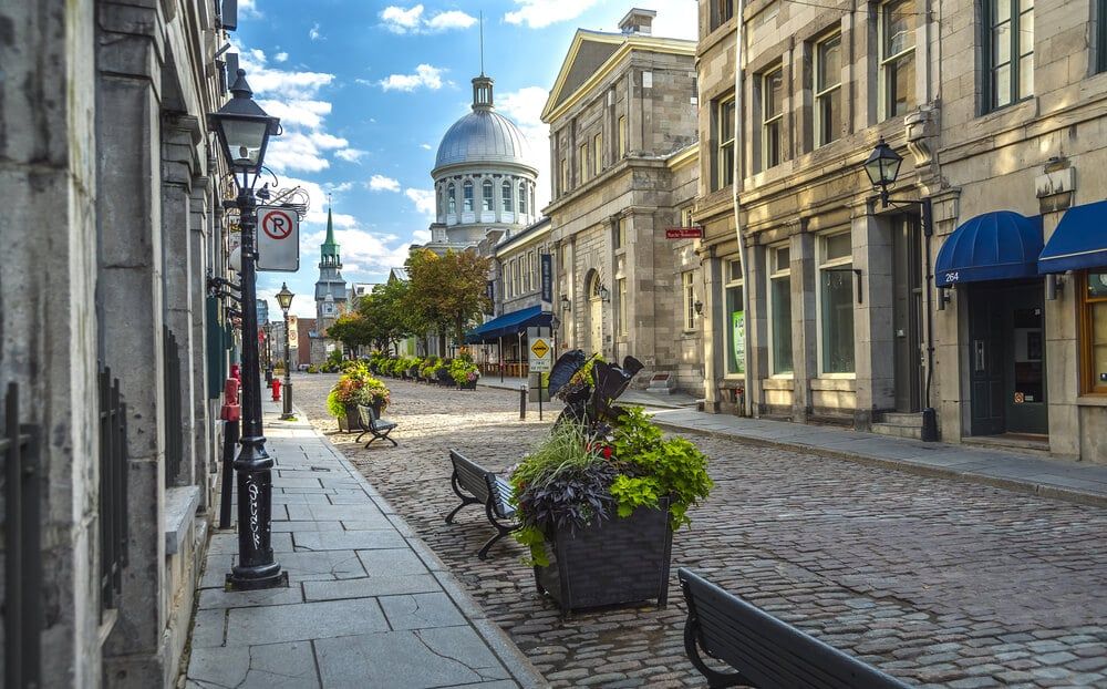 Montreal con visado