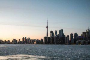 Paisaje de Toronto, Canadá