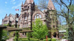 Edificio antiguo en Toronto