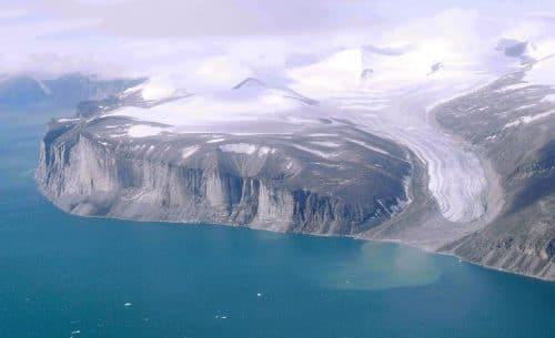 La superficie de la isla de Baffin, en Canadá