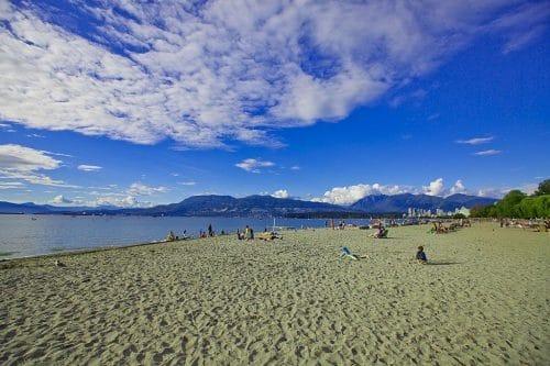 visita las playas en Canadá (eta)