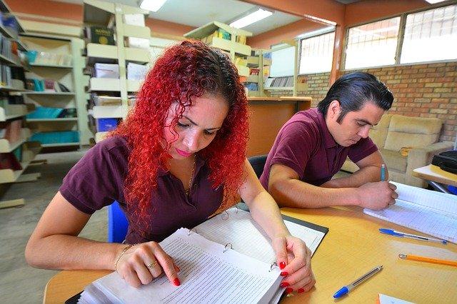 Estudiantes de inglés