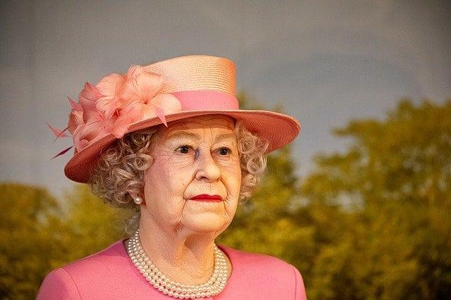 Figura de cera de la Reina Isabel II