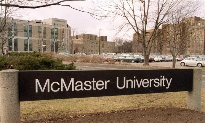 La Universidad McMaster en Ontario
