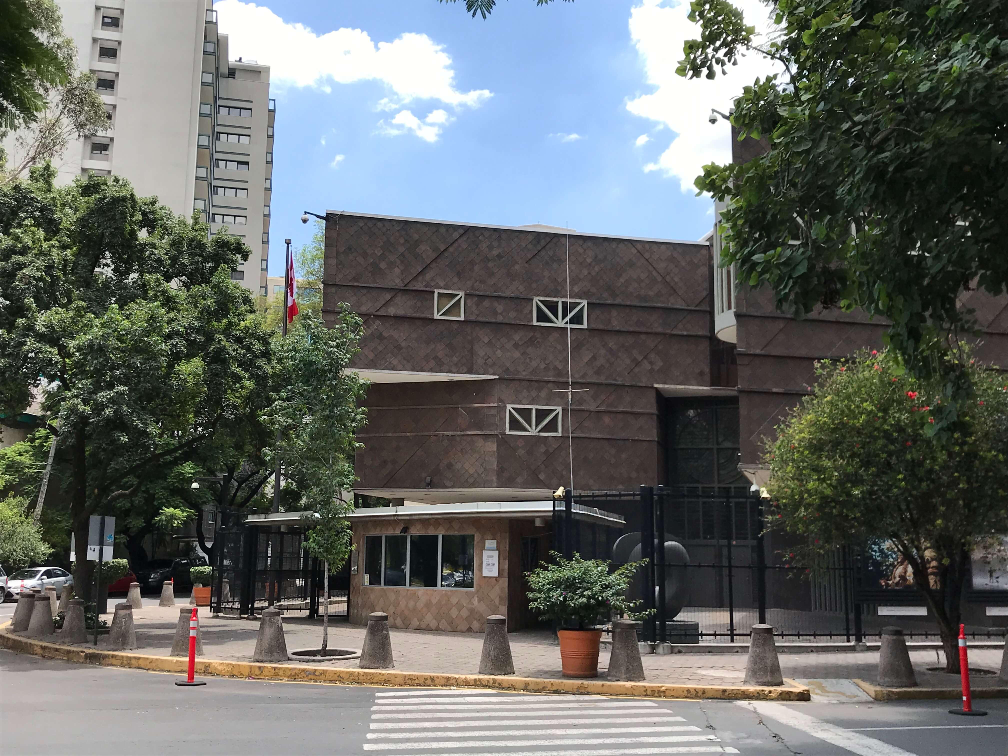 Embajada y Consulados de Canadá en México