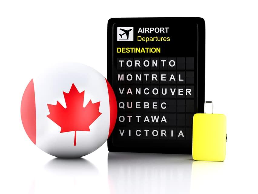 ¿Necesito visa para hacer escala en Canadá?